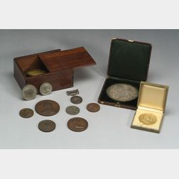 Large Lot of Commemorative Medallions