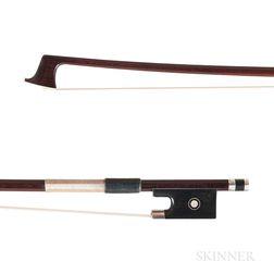 Silver-mounted Viola Bow, Thomas M. Gerbeth