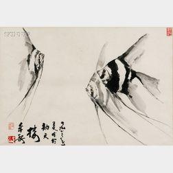 Chinese School, 20th Century      Angelfish