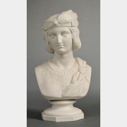 Mintons Parian Bust of Viola