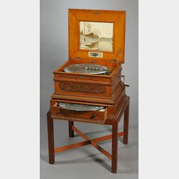 15 1/2-Inch Olympia Disc Musical Box