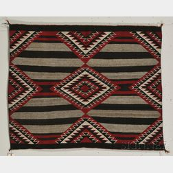 Navajo Weaving with Third Phase Chief's Pattern