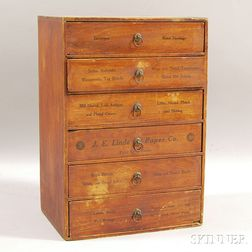 J.E. Linde Paper Co. Small Chest