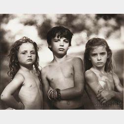 Sally Mann (American, b. 1951)      Emmett, Jessie and Virginia