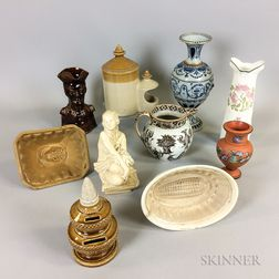 Ten English Ceramic Items