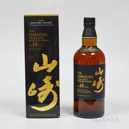 Yamazaki 18 Years Od, 1 750ml bottle (oc)