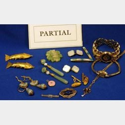 Approximately Thirty-four Pieces of Miscellaneous Jewelry