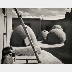 Alma Lavenson (American, 1897-1989)      Indian Ovens, Taos