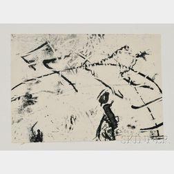 Hannah Höch (German, 1889-1978)    Komposition Mit Kleiner Figur
