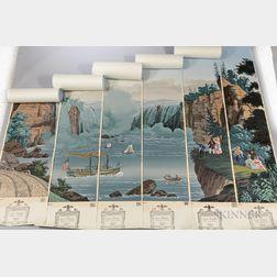 """Niagara Falls"" Wallpaper Panels"