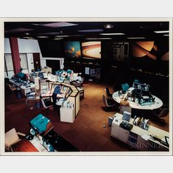 Jet Propulsion Laboratory, Deep Space Network, Four Photographs, 1981.