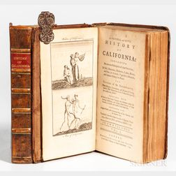 Venegas, Miguel (1680-1764) A Natural and Civil History of California.