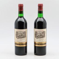 Chateau Lafite Rothschild 1976, 2 bottles
