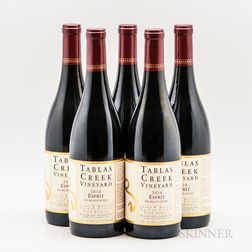 Tablas Creek Esprit de Beaucastel 2010, 5 bottles
