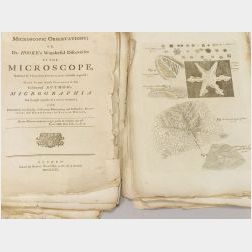 Microscopic Observations or Dr. Hooke's Wonderful Discoveries by the   Microscope