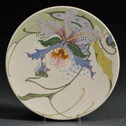 Zuid Holland Gouda Porcelain Decor   Pottery Cabinet Plate