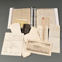 Group of Military Documents from a Signal Corps Officer