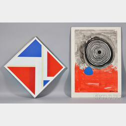 Four 20th Century Works on Paper: After Alexander Calder (American, 1898–1976), Exhibition Poster: Calders Circus, Whitney Museum of A