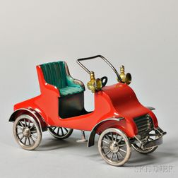 Tiffany & Co. Sterling Silver and Enamel Jalopy