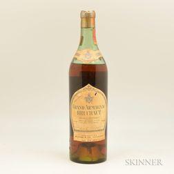 Bruchaut Grand Armagnac, 1 4/5 quart bottle