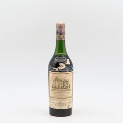 Chateau Haut Brion 1962, 1 bottle