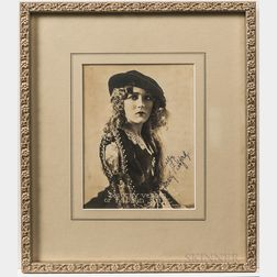 Six Framed Signed Photographs of Classic Film Stars