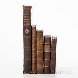 Five Religious and Moral British Works.