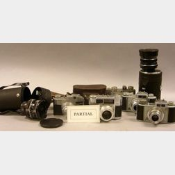 Large Lot of Cameras and Equipment