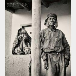 Alma Lavenson (American, 1897-1989)      San Ildefonso Indians