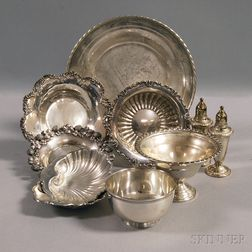 Group of Assorted American Sterling Silver Tableware