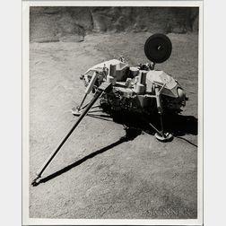 Viking 1, Seven Preliminary Images, 1975.