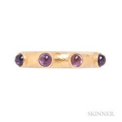 18kt Gold and Amethyst Ring, Elizabeth Locke