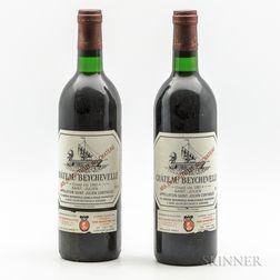 Chateau Beychevelle 1985, 2 bottles