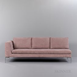 "Antonio Citterio (b. 1950) for B&B Italia ""Charles"" Two-Piece Sectional Sofa"