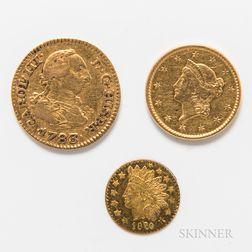 Three Gold Coins