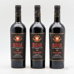 Il Poggione Brunello di Montalcino 2006, 3 bottles