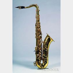 French Tenor Saxophone, Henri Selmer, Paris, 1973, Model Mark VI