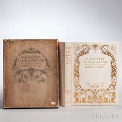 Rubaiyat of Omar Khayyam, Illustrated by Edmund Dulac, Trade Edition.