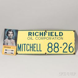 Richfield Enameled Oil Corporation Sign