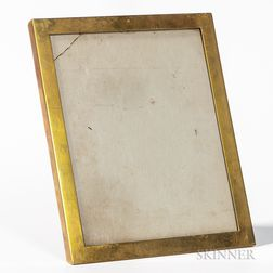 18kt Gold and Walnut Picture Frame, Tiffany & Co.