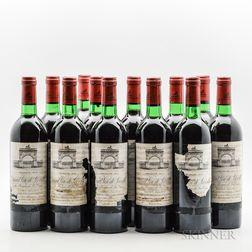 Chateau Leoville Las Cases 1978, 12 bottles (owc, no lid)