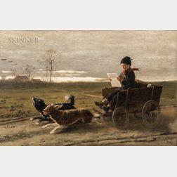Hubert Salentin (German, 1822-1910)      The Morning Post