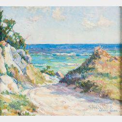 Hanna Rion (American, 1875-1924)      Beach Path.