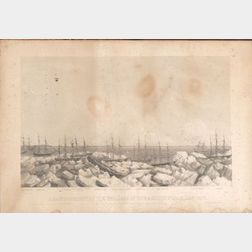Benjamin Russell, publisher (New Bedford, Massachusetts, 1804 - 1885),      Abandonment of the Whalers in the Arctic Ocean Sept. 1871.