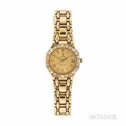 "Concord 18kt Gold and Diamond ""Saratoga"" Wristwatch"