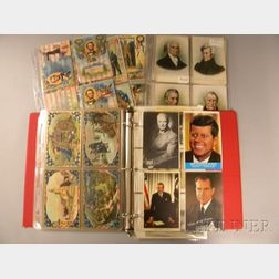 130 Mostly Early 20th Century George Washington, Abraham Lincoln, and U.S.   Presidential Postcards