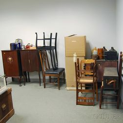 Large Group of Furniture and Decorative Accessories