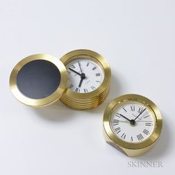 Tiffany & Co. and Movado Travel Clocks