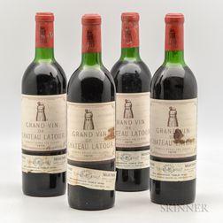 Chateau Latour 1970, 4 bottles