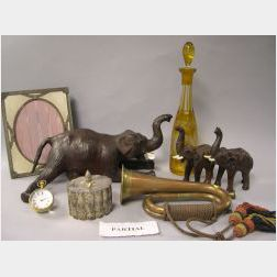 Group of Decorative Table Items